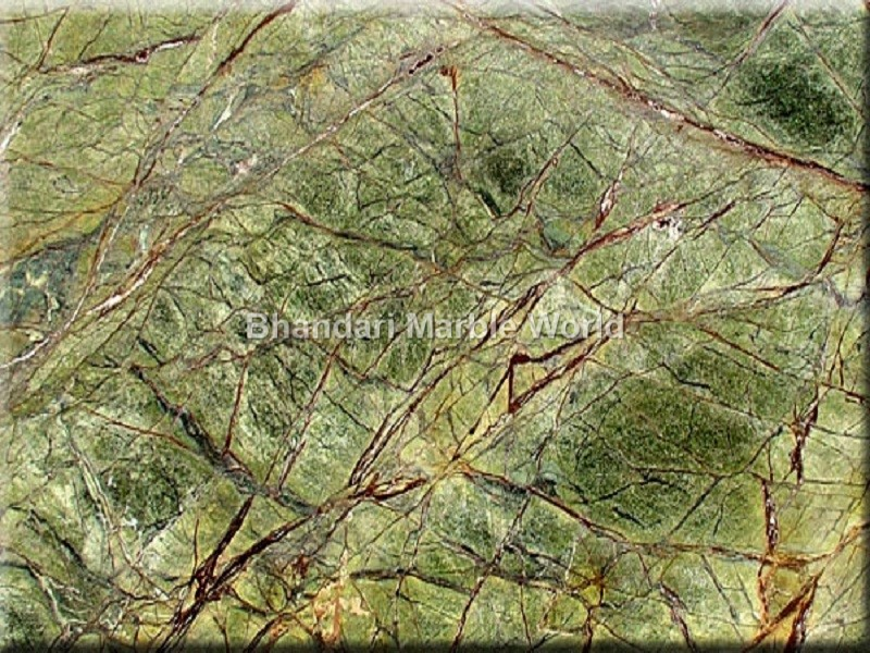 Rainforest Green Marble : Indian marble best in india