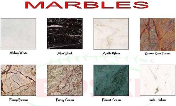 ADVANTAGES OF USING INDIAN MARBLE: - Bhandari Marble World