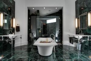 indian marble tile bathroom
